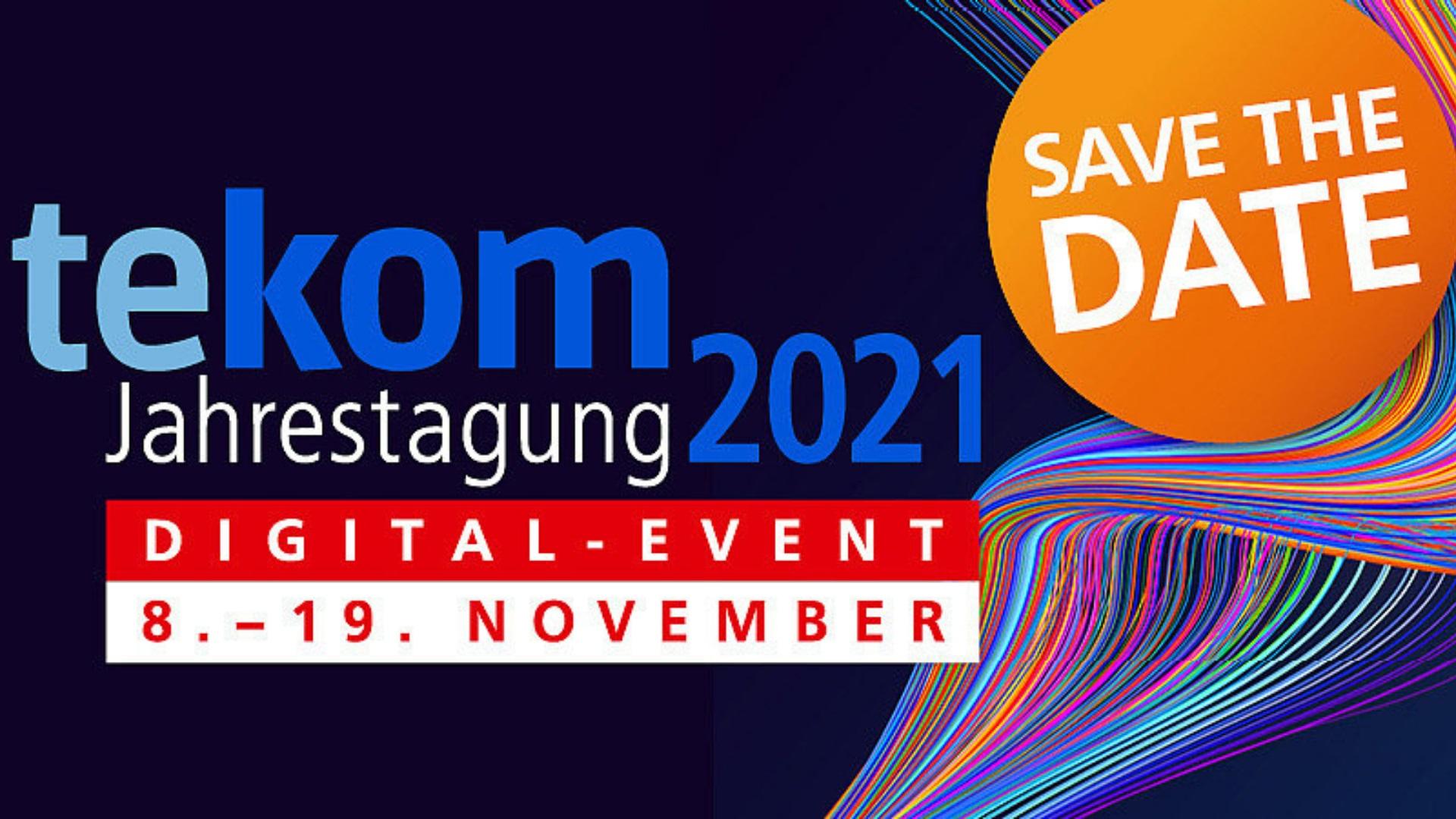 tekom-Jahrestagung 2021 vom 8. bis 19. November